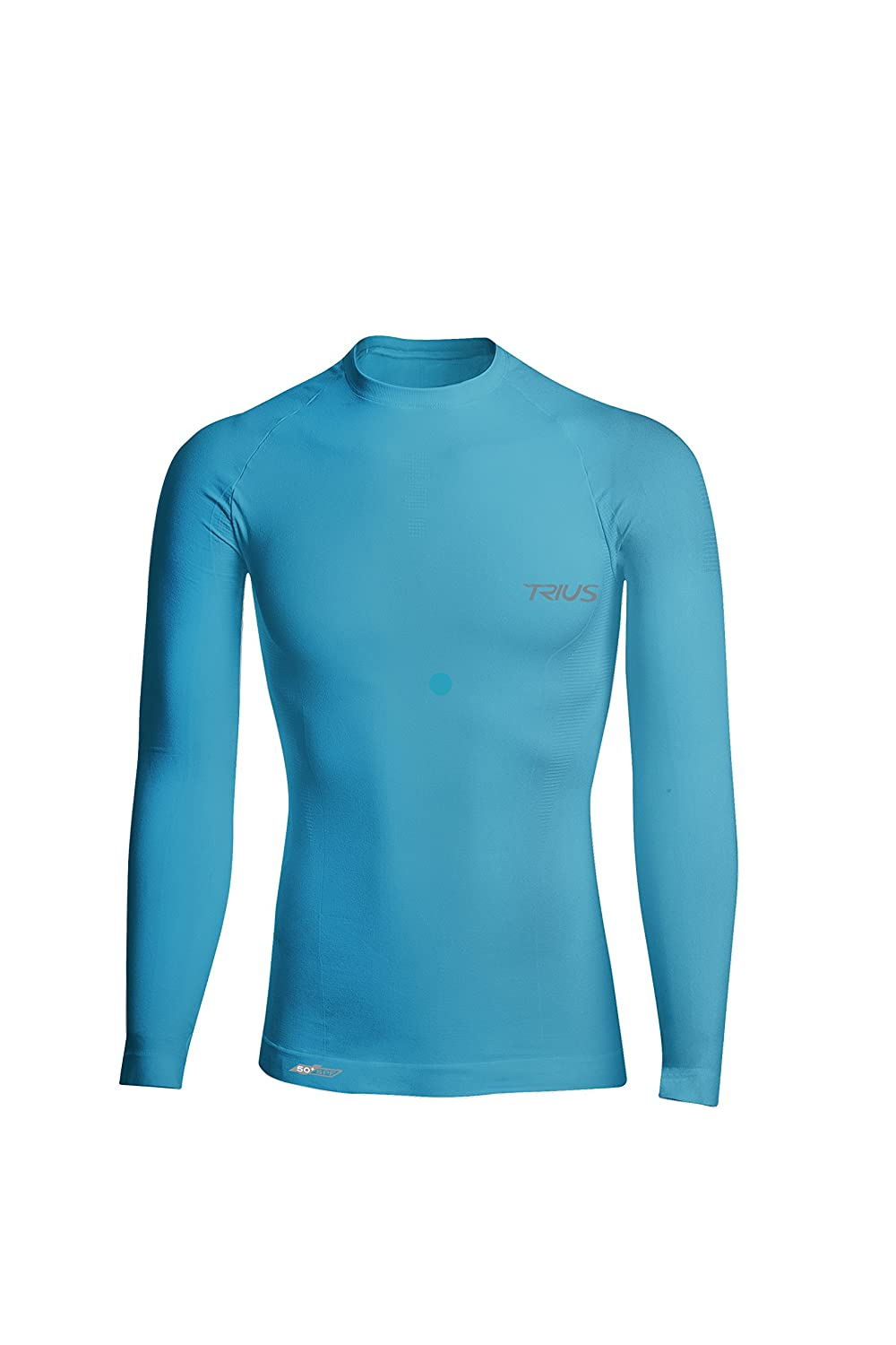 e8e568f2fa6 SPEED UP MUSCLE RECOVERY. This long sleeve compression shirt helps to  improve circulation and reduces recovery time. The perfect mens  base later  shirt.