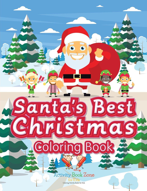 Read Online Santa's Best Christmas Coloring Book ebook