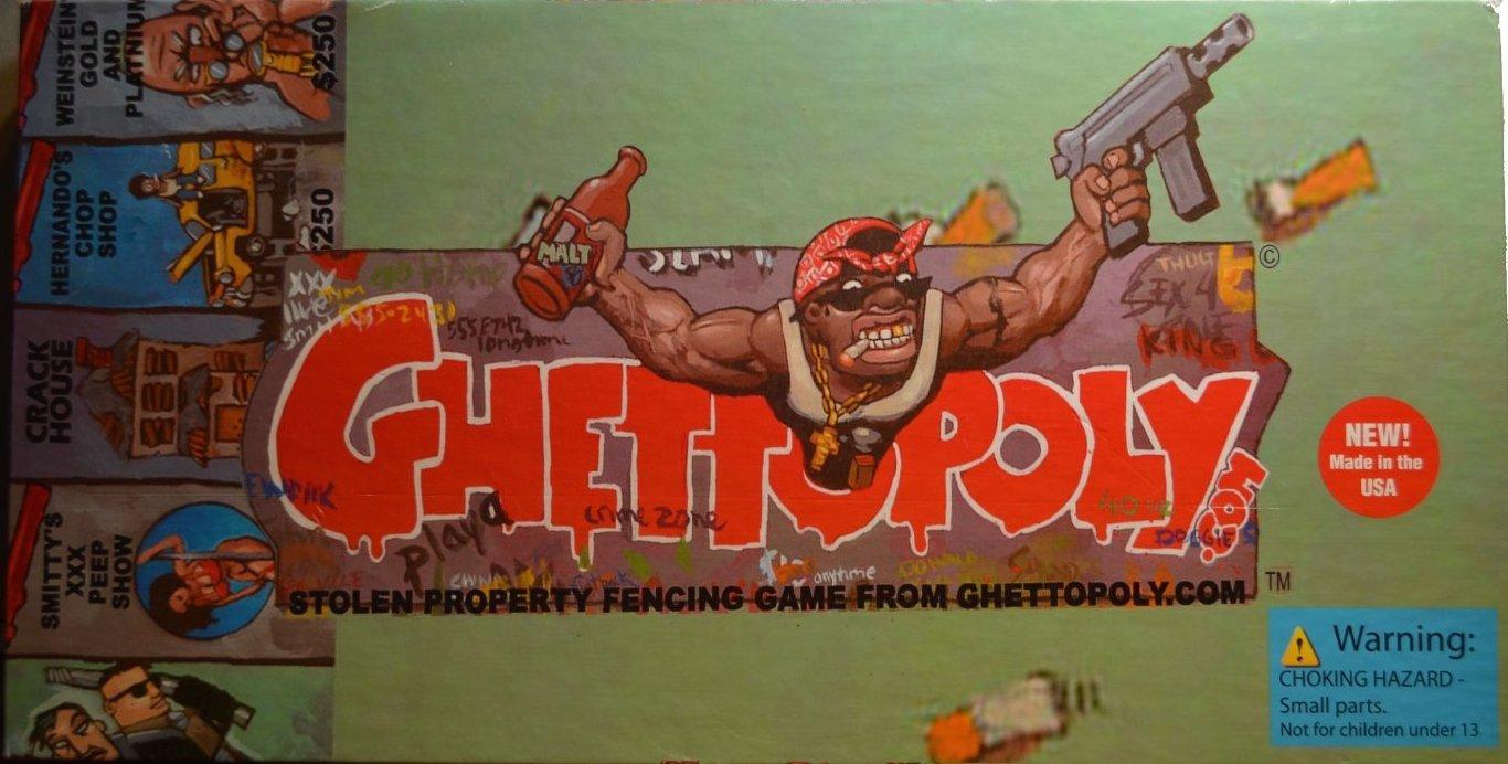 Ghettopoly Boardgame
