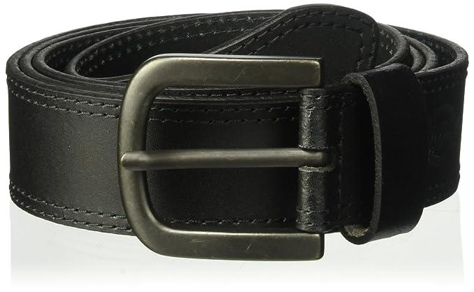 Amazon.com: Dickies - Cinturón de cuero con diseño de ...