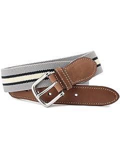 Stripe Surcingle Belt 118-13-1134: Grey