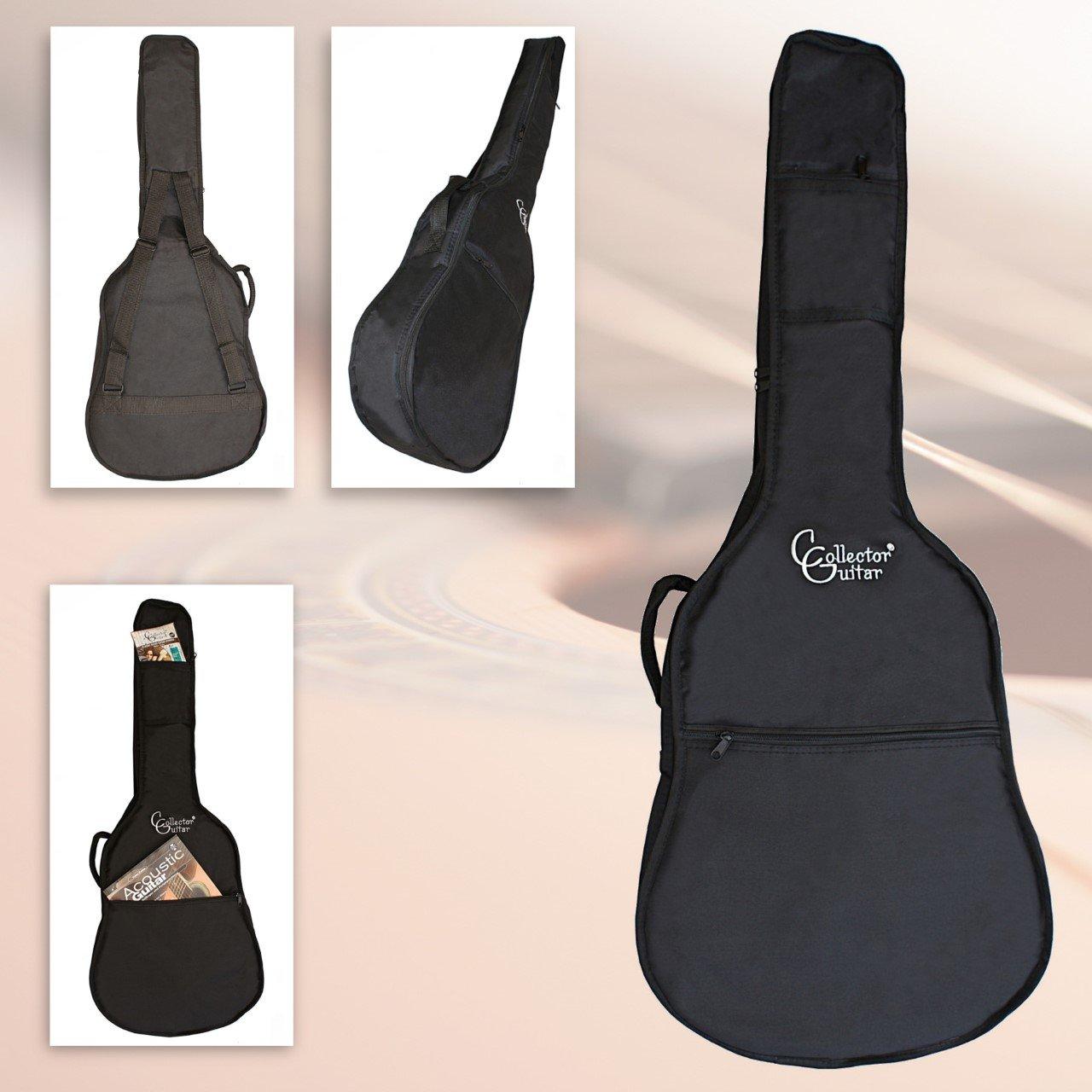 Collect orguitar Custodia per chitarra custodia imbottita foderato/imbottita per chitarra da concerto/Chitarra classica in 3/4misura Alneo GmbH
