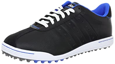 new product 129d8 48610 adidas Mens Adicross II WD Golf Shoe,BlackBlueRunning White,15