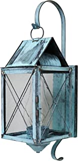 product image for Brass Traditions 320-P SXVG Large Wall Lantern 300 Series Profile Bracket, Verde green Finish 300 Series Profile Bracket Wall Lantern