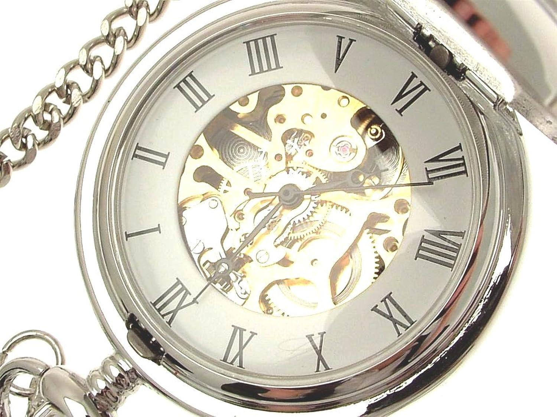 Gravur Taschenuhr & StÄnder Mechanische Skelett Herren Taschenuhren SchlÜsselanhÄnger Uhren 12