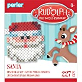 Perler Beads 80-72261 Rudolph the Red-Nosed Reindeer Fused Bead Activity Kit, Santa
