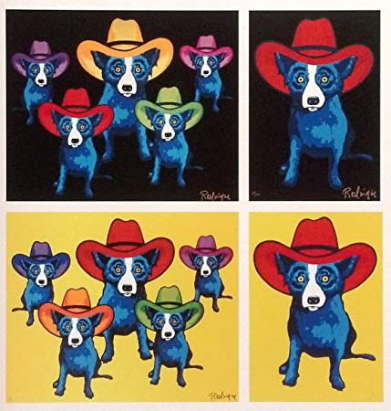 Midnight Cowboy - High Noon - Gary Cooper - Stetson Night George Rodrigue d9449132752