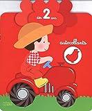 Autocollants petite fleur : le tracteur - dès 2 ans