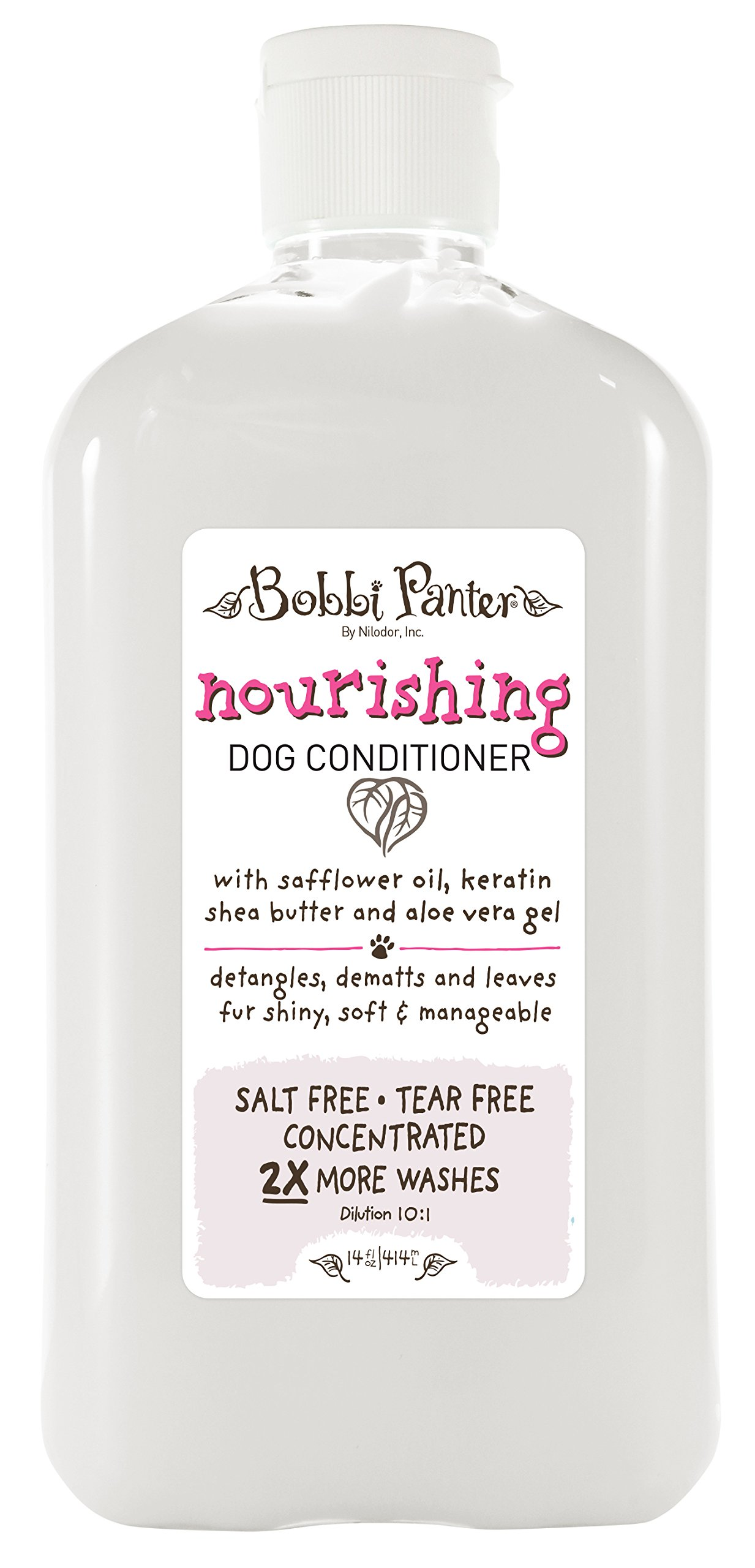 Bobbi Panter Natural Nourishing Dog Conditioner, 14-Ounce