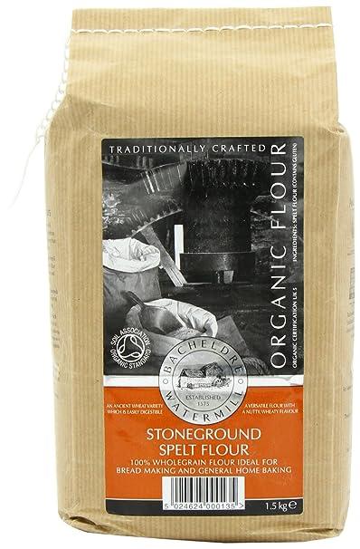 Bacheldre Orgánica Stoneground integrales espelta harina 1.5 kg ...