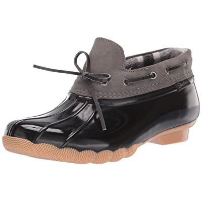 Skechers Women's Pond-Posy One-Waterproof Bow Duck Shoe Rain Boot | Rain Footwear