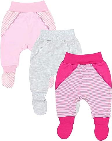 Paquete de 3 TupTam Pantalones de Beb/é para Ni/ñas