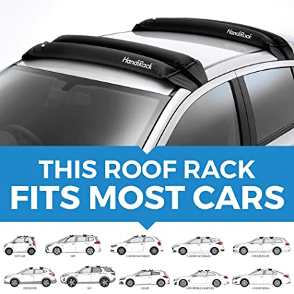 Amazon Com Handirack Universal Inflatable Roof Rack Bars Black