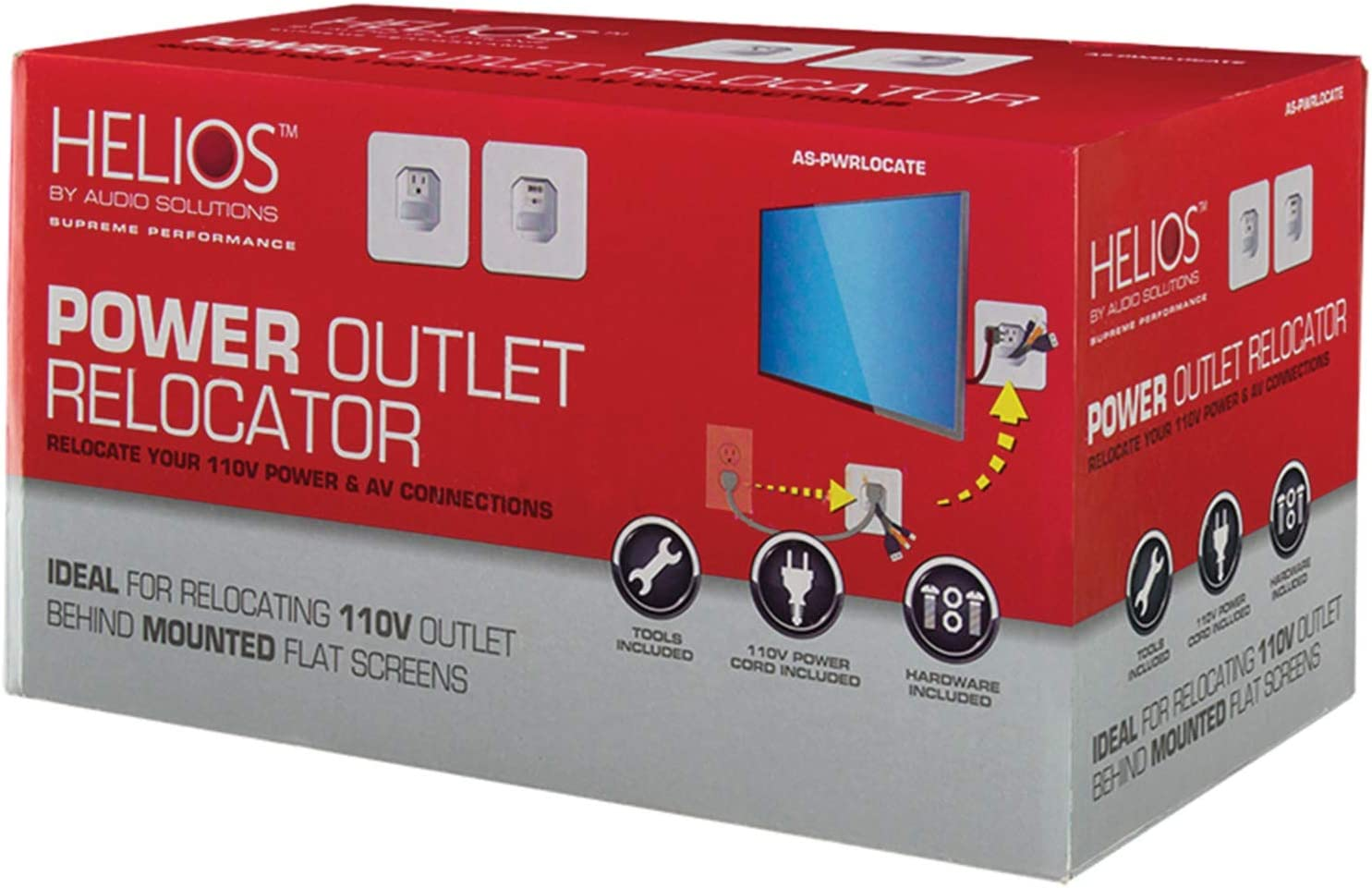 AS-PWRLOCATE Metra Home Theater Relocation Power Kit Multicolor