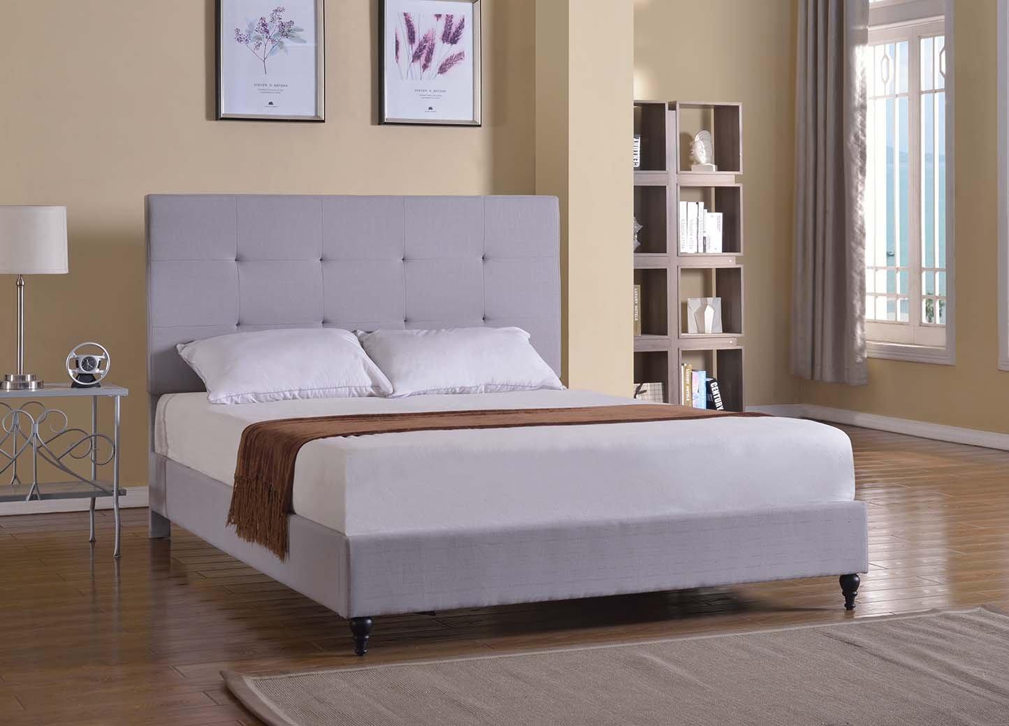 Amazon.com: Home Life Cloth Light Grey Silver Linen 47\