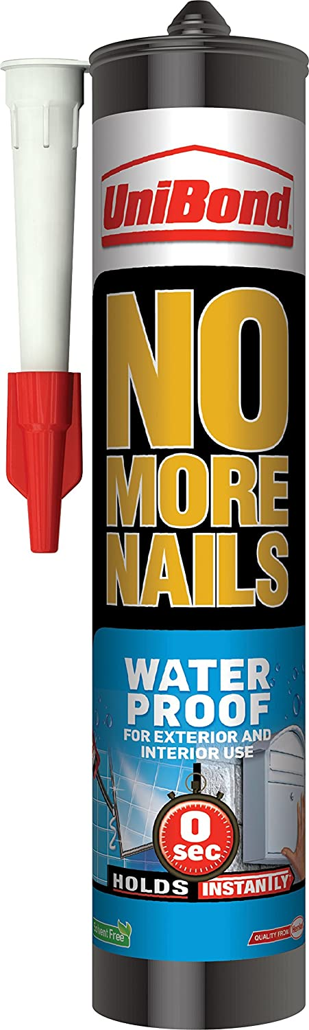 UniBond No More Nails Exterior Water-Resistant Grab Adhesive ...