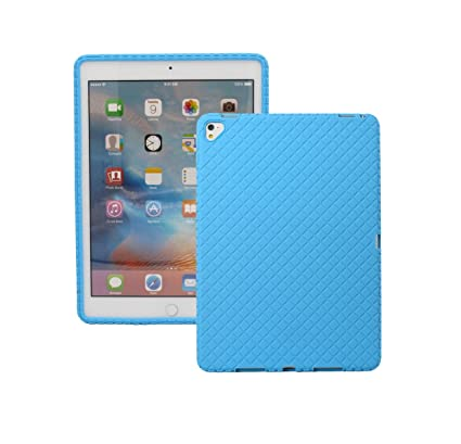 """best service 81053 2afc2 Veamor iPad Pro 9.7 Inch Silicone Back Case Cover, Anti Slip Flexible  Rubber Protective Skin Soft Bumper for Apple iPad Pro 9.7"""" 2016, Kids ..."""