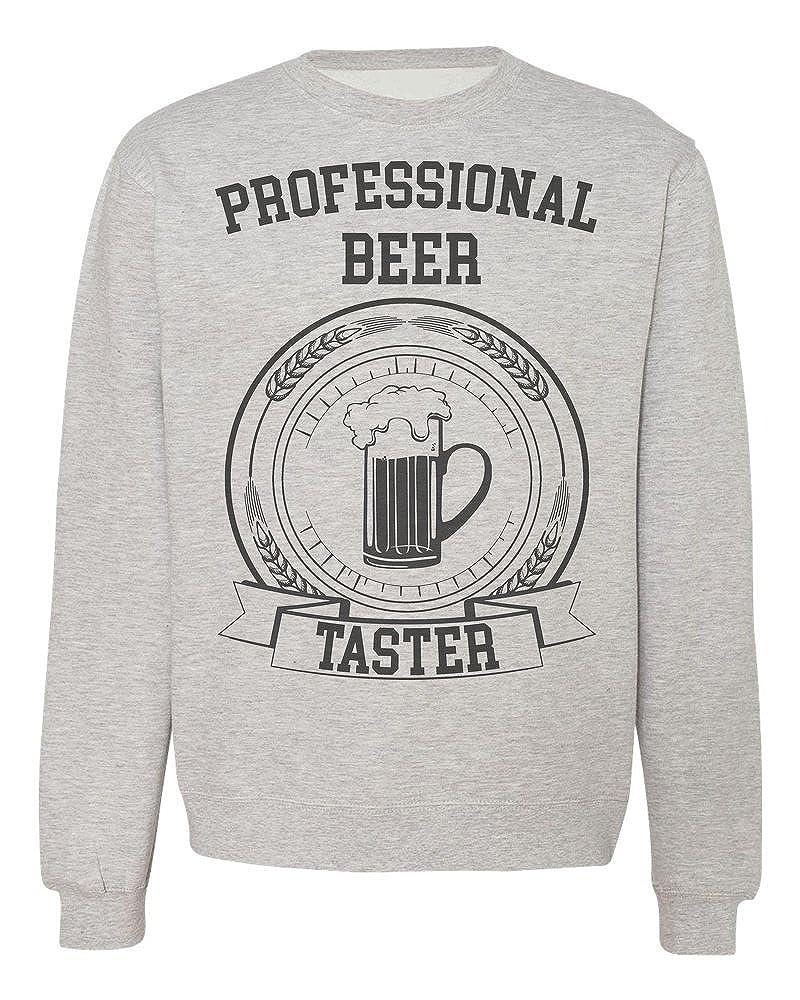 IDcommerce Professional Beer Taster Cool Certificate Design Mens Womens Unisex Sweatshirt