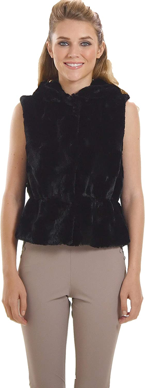 Melody Faux Fur Bolero Round Vest