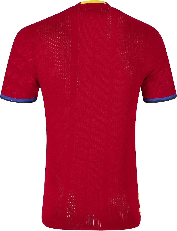 adidas 1ª Equipación Federación Española de Fútbol - Camiseta Oficial: Amazon.es: Zapatos y complementos