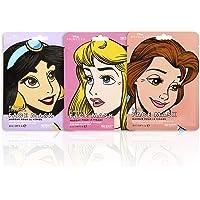 MAD Beauty Disney-prinsessen, vochtinbrengend gezichtsmasker, 3 stuks