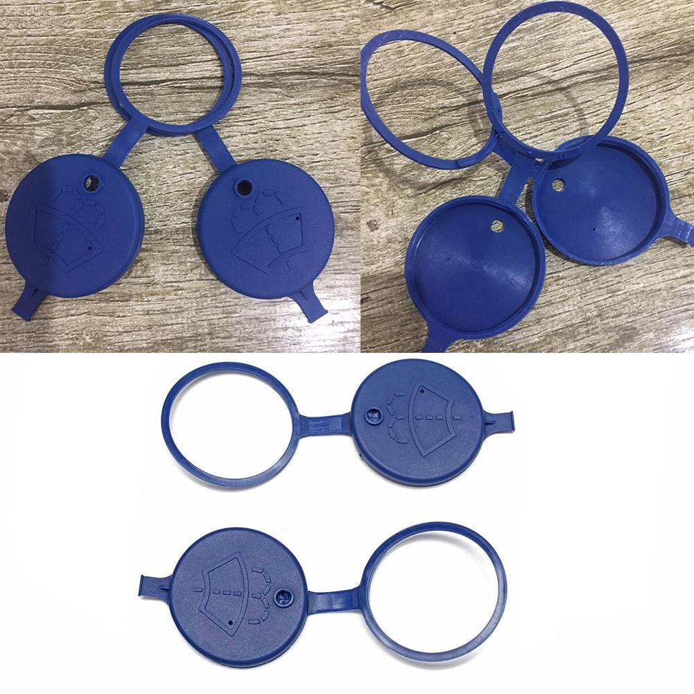 RUNGAO - Arandela para Parabrisas (2 Unidades), Color Azul: Amazon.es: Coche y moto