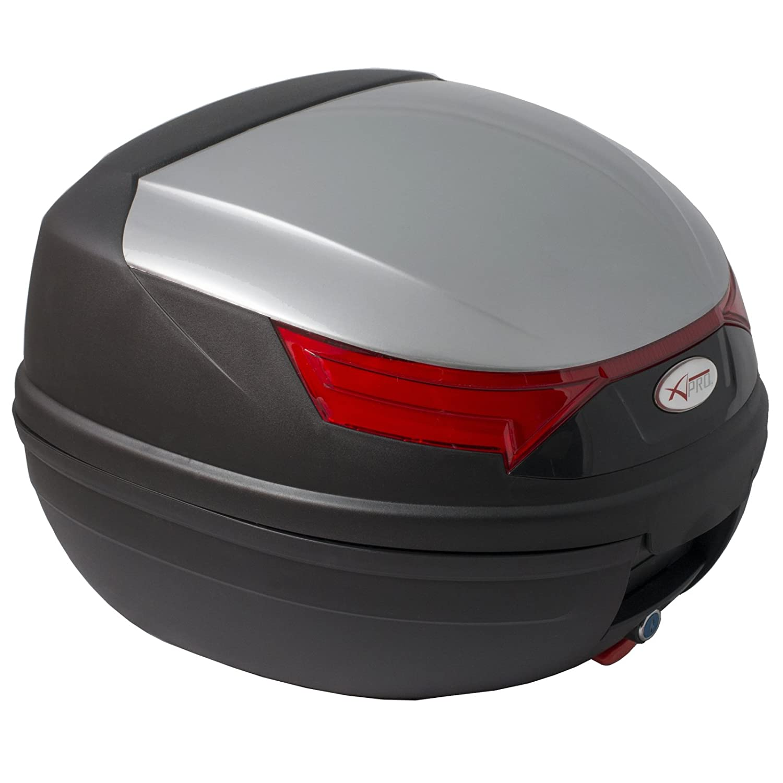 Quad Universal A-Pro 46 litros malet/ín para Moto Top Case Blanco