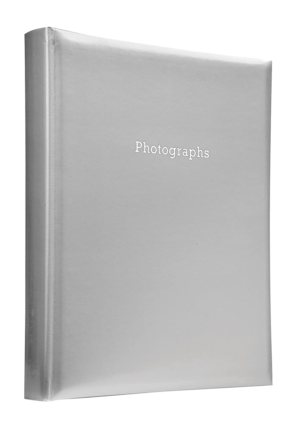 Deluxe Large Silver Self Adhesive Photo Album Hold Various Sized Photos 50 Pages Pfennig N Squid Ltd