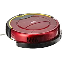 EuropAce Robotic Vacuum Cleaner (With Water Tank), Red