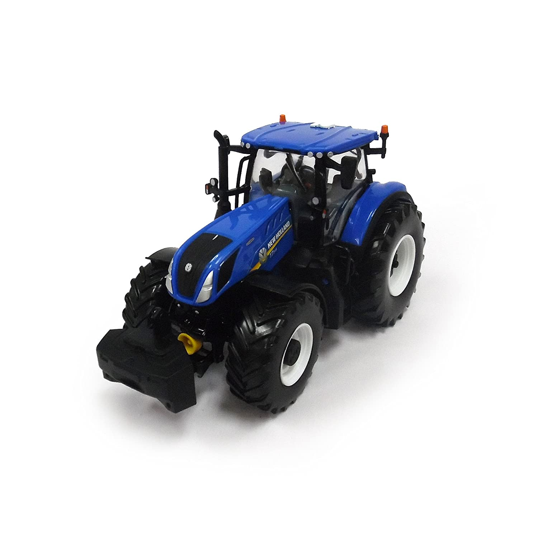 Britains Tomy New Holland, T7 315 - Kinder Traktor mit höhenverstellbarer Heckhydraulik und lenkbarer Vorderachse - Hochwertiger Traktor für Kinder ab 3 Jahre 43149A1