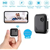 Mini WiFi-Spy Camera 1080P Wireless Hidden-Camera, OUCAM Small Surveillance Camera Spy Cam with Audio and Video…