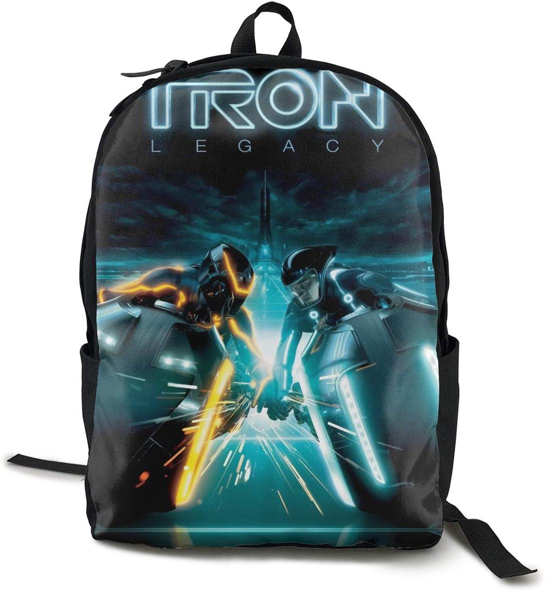 Robert R Castleberry Unisex Daft Punk – Tron Legacy Travel Classic Backpack