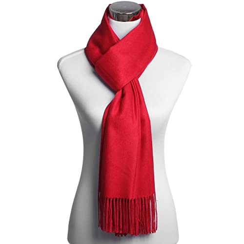 """JAKY Global 100% Pure Cashmere Scarf Shawl Super Soft and Warm 70"""" x 27"""" Scarves"""