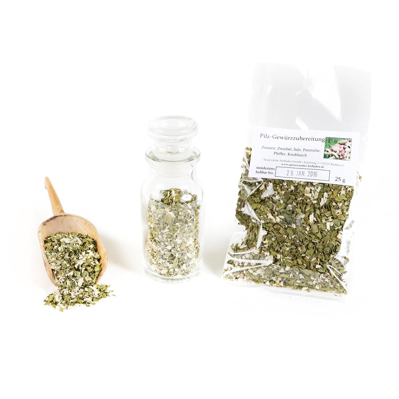 Pilz Gewürzmischung für Pilze - Pilzrisotto