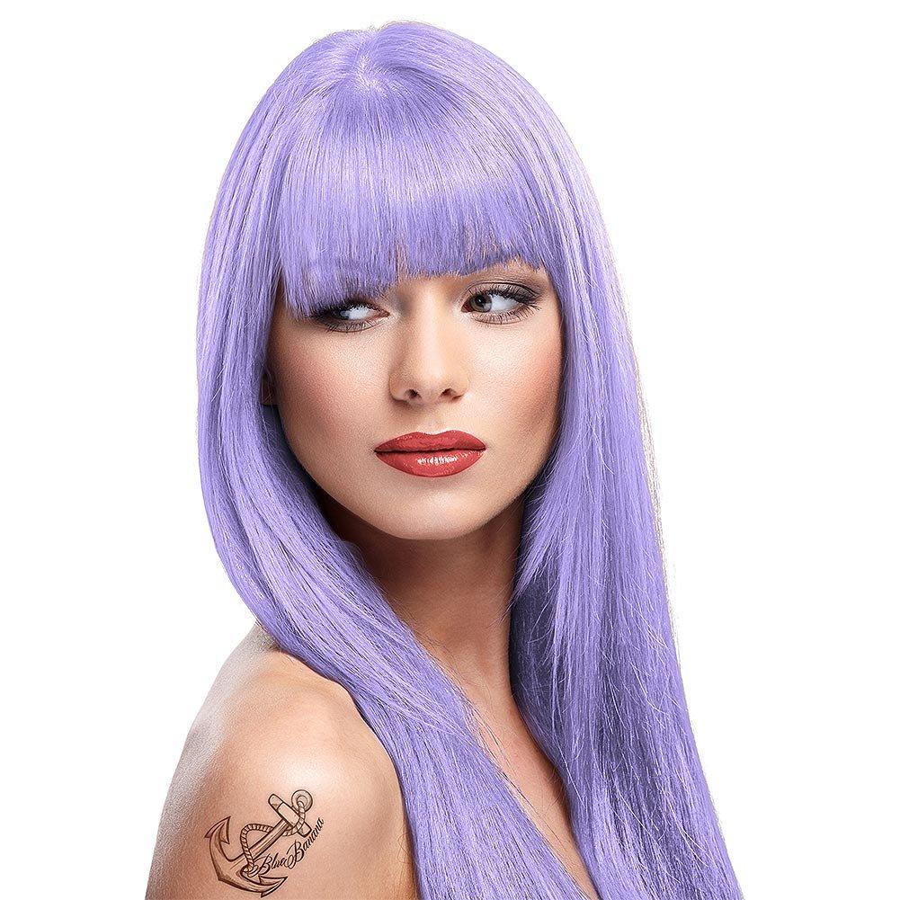 2 x La Riche Directions Semi-Permanent Hair Color 88ml Tubs - LILAC