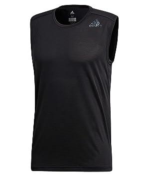 Adidas Climacool - Camiseta sin Mangas, Black, L: Amazon.es: Deportes y aire libre