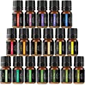 18-Pieces Aromatherapy Essential & Therapeutic Fragrance Oils Blends