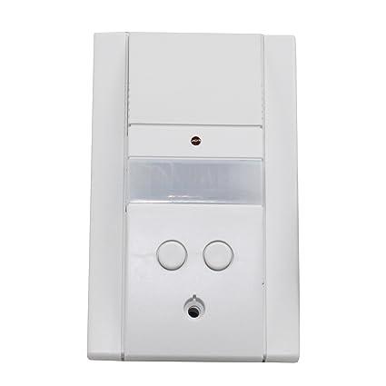 Hubbell unenco som 10 – 2 Sensor de movimiento PIR interruptor de pared doble circuito 120