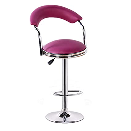 Amazon.com: DONGYUER Barstools Breakfast Chair Bar Stool High Stool Greenhouse Cafe Bar Dining Room and Iron Seating Kitchen Breakfast Counter,B: Kitchen & ...