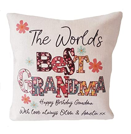 dozili personalised world s best grandma granny nan nanny etc