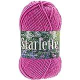 Mary Maxim Starlette Yarn, Hot Pink