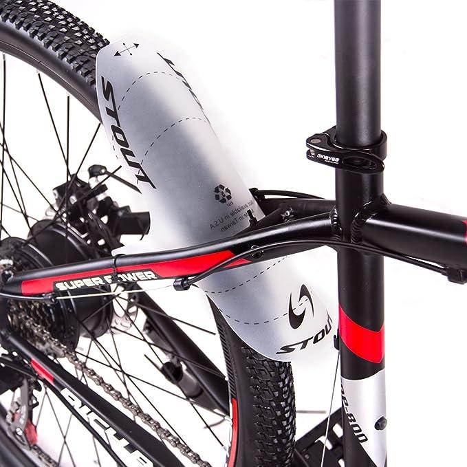 RICH BIT Realease Libre Cara Guardabarros PE Ligero MTB Horquilla Delantera Trasera Guardabarros Tire Tipo Bicicleta de monta/ña BMX