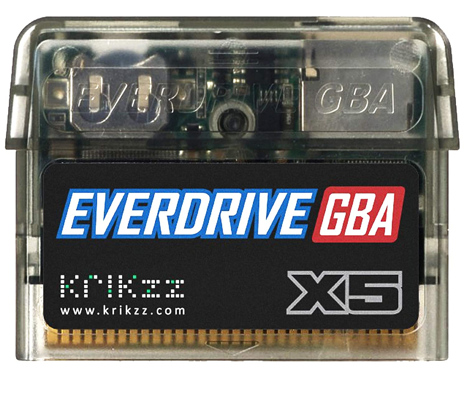 EverDrive X5 Flash Cart for the Game boy Advance, GBA and Nintendo DS Lite