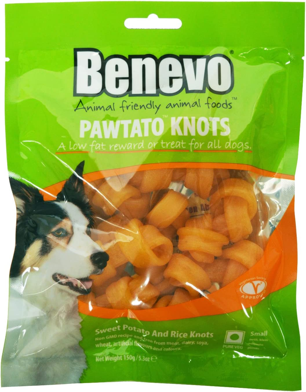 Benevo Vegan Pawtato Dog Chews Knots