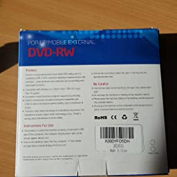 Usb 3 0 External Dvd Drive Portable Cd Dvd Drive Player External Cd Burner Reader Writer Disk Drive For Laptop Desktop Macbook Mac Os Windows 10 8 7 Xp Vista Amazon Co Uk Computers Accessories