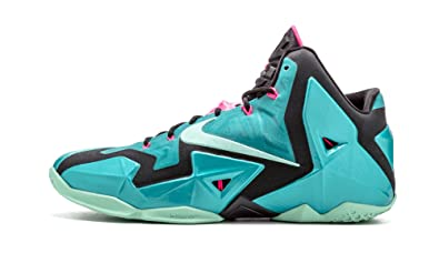 NIKE Men's Lebron XI, Sport Turquoise/Medium Mint-Black, 11 M US