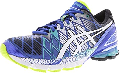 ASICS - Gel-Kinsei 5 Herren, Blau (Blue/White / Emerald Green), 38.5 ...