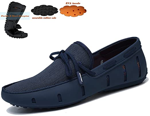 Men's Shoes Braided Lace Loafer Water Shoe