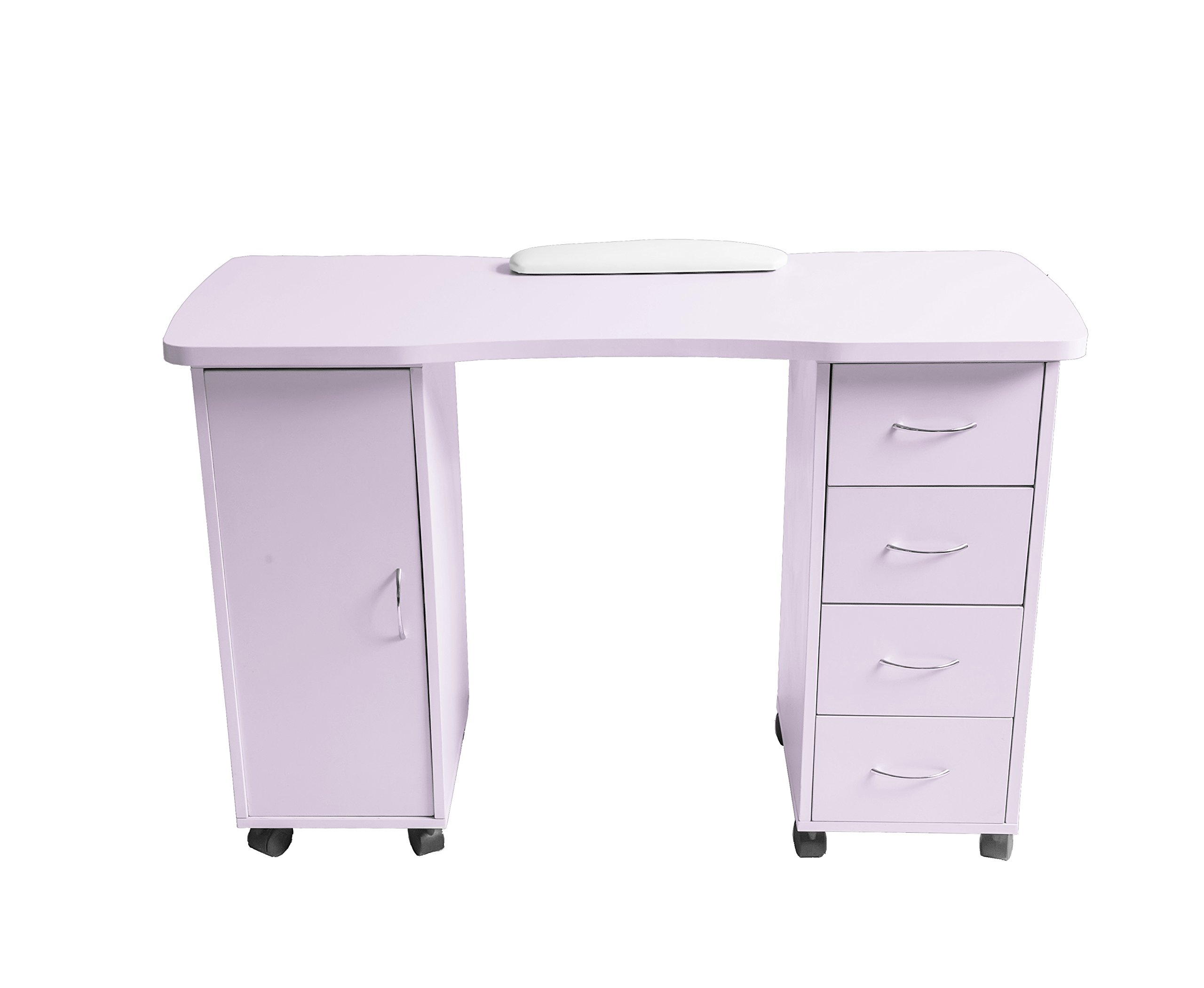 ExacMe Slightly purple Manicure Nail Table Station Desk Spa Beauty Salon Equipment 400/600 (600)