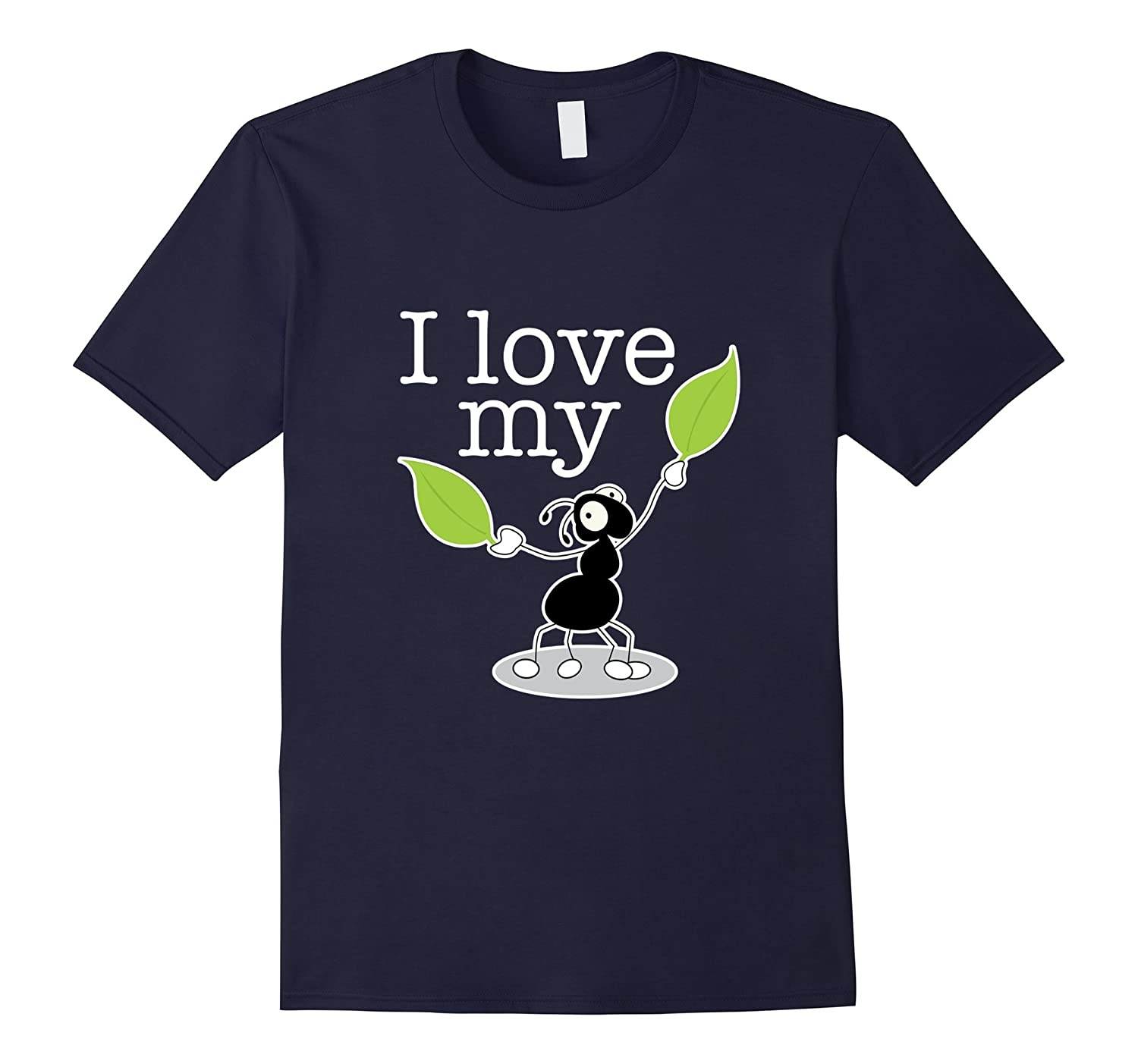I Love My Aunt (Ant) T-Shirt - Funny Nephew Niece Gift Tee-azvn